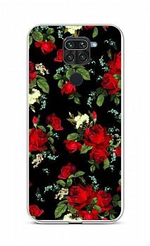 Zadní silikonový kryt na Xiaomi Redmi Note 9 Květy růží