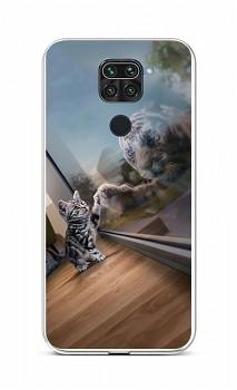 Zadní silikonový kryt na Xiaomi Redmi Note 9 Odraz tygra