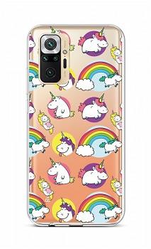 Zadní silikonový kryt na Xiaomi Redmi Note 10 Pro Chunky Unicorns