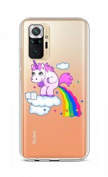 Zadní silikonový kryt na Xiaomi Redmi Note 10 Pro Rainbow Disaster