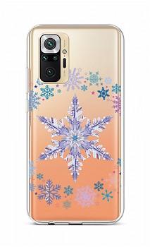 Zadní silikonový kryt na Xiaomi Redmi Note 10 Pro Snowflake