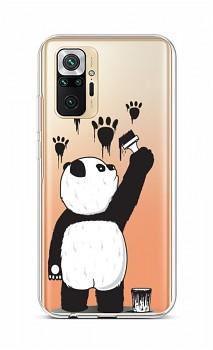 Zadní silikonový kryt na Xiaomi Redmi Note 10 Pro Rebel Panda