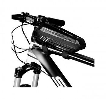 Vodotěsné pouzdro WildMan E5S na rám kola černé