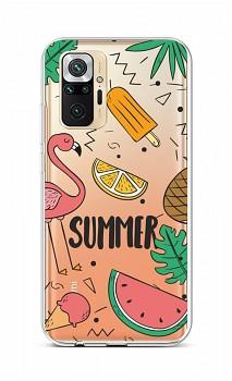 Zadní silikonový kryt na Xiaomi Redmi Note 10 Pro Summer