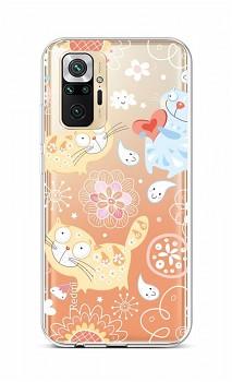 Zadní silikonový kryt na Xiaomi Redmi Note 10 Pro Happy Cats