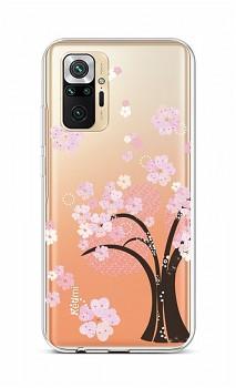 Zadní silikonový kryt na Xiaomi Redmi Note 10 Pro Cherry Tree