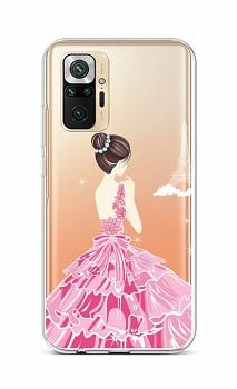 Zadní silikonový kryt na Xiaomi Redmi Note 10 Pro Pink Princess
