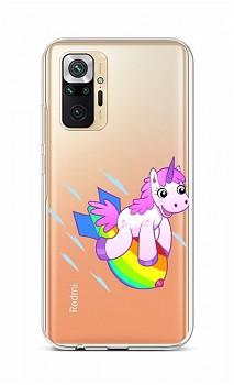 Zadní silikonový kryt na Xiaomi Redmi Note 10 Pro Flying Unicorn