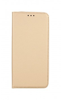 Knížkové pouzdro Smart Magnet na Samsung S21 Plus zlaté