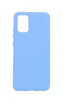 Zadní silikonový kryt Solid na Samsung A02s světle modrý