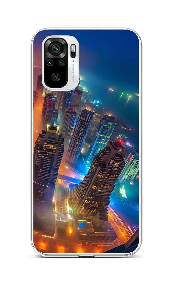 Zadní silikonový kryt na Xiaomi Redmi Note 10 Město