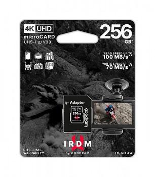 Paměťová karta GOODRAM 256 GB IRDM UHS-I U3 V30