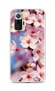 Zadní silikonový kryt na Xiaomi Redmi Note 10 Pro Sakura