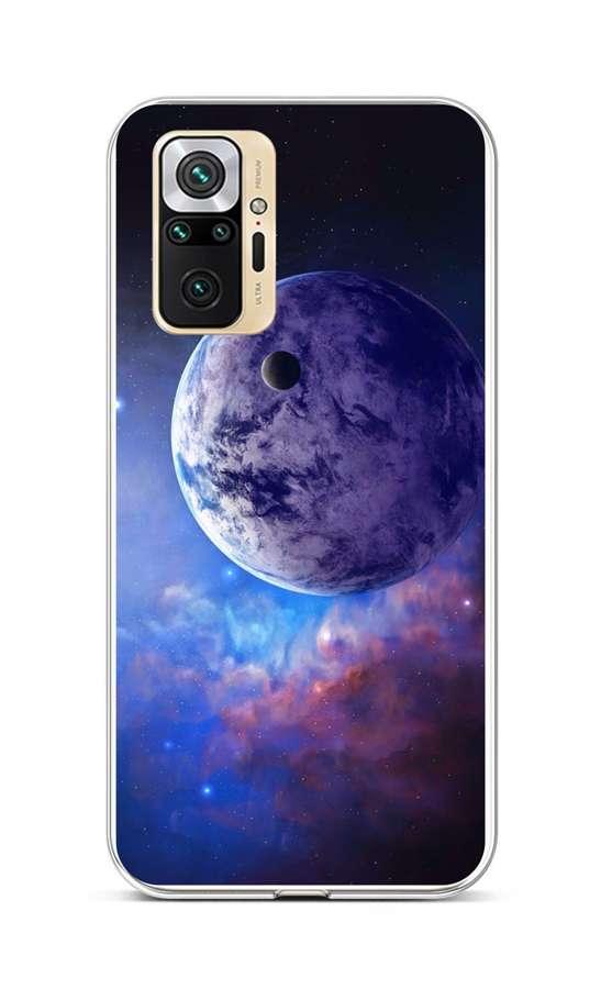 Zadní silikonový kryt na Xiaomi Redmi Note 10 Pro Planeta