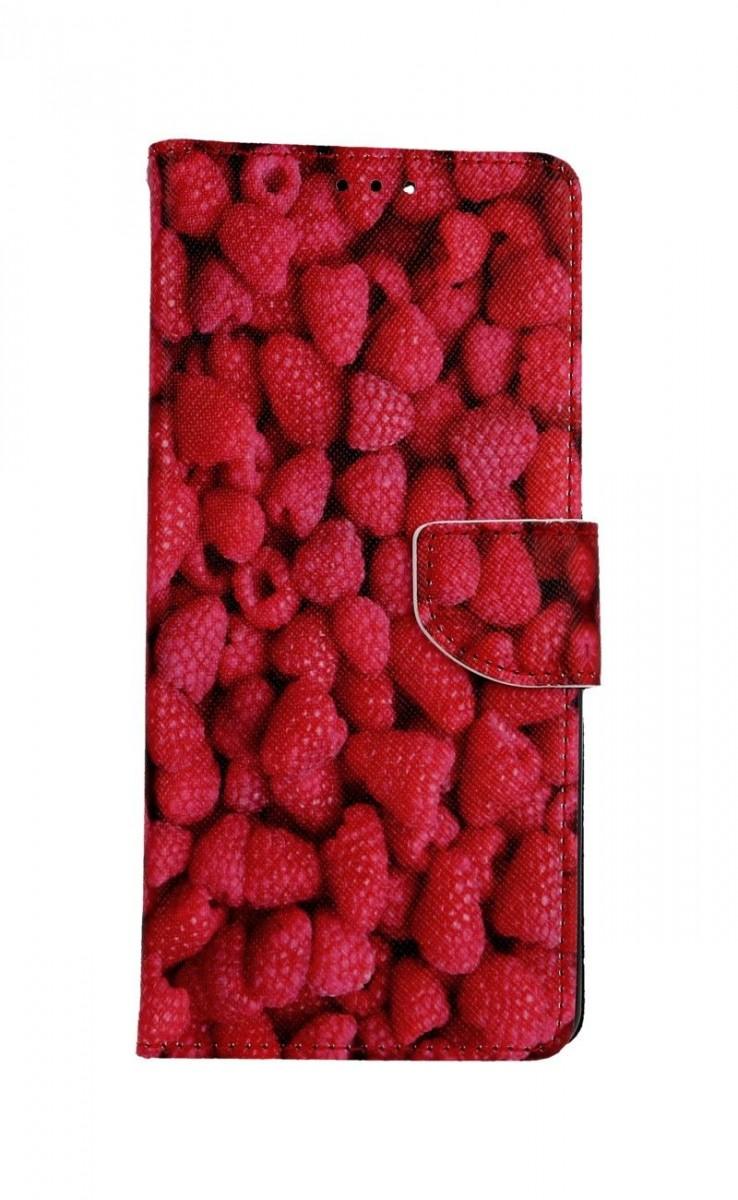 Knížkové pouzdro na Xiaomi Redmi Note 10 Pro Maliny