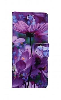 Knížkové pouzdro na Xiaomi Redmi Note 10 Pro Rozkvetlé květy