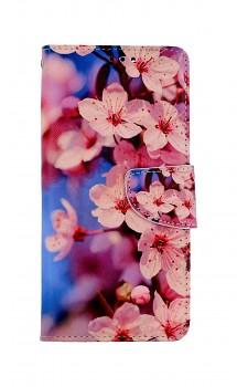 Knížkové pouzdro na Xiaomi Redmi Note 10 Pro Sakura