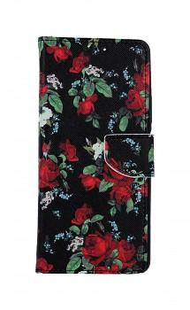 Knížkové pouzdro na Xiaomi Redmi Note 10 Pro Květy růží