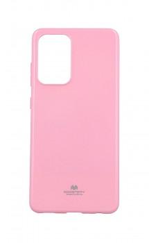 Zadní kryt Mercury Jelly Case na Samsung A52 světle růžový