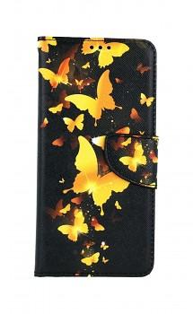 Knížkové pouzdro na Xiaomi Redmi Note 10 Luxusní motýlci