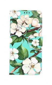 Knížkové pouzdro na Xiaomi Redmi Note 10 Malované květy