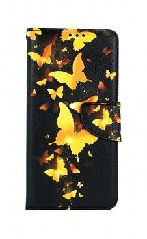 Knížkové pouzdro na Xiaomi Redmi Note 10 Pro Luxusní motýlci