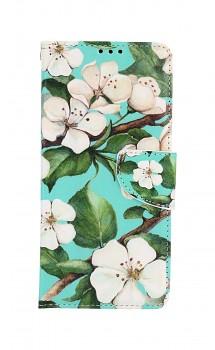 Knížkové pouzdro na Xiaomi Redmi Note 10 Pro Malované květy