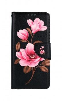 Knížkové pouzdro na Xiaomi Redmi Note 10 Pro Tři květy