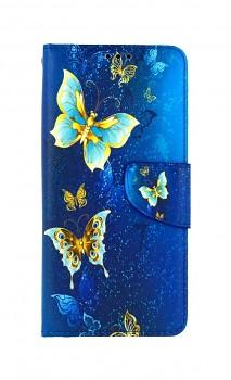 Knížkové pouzdro na Xiaomi Redmi Note 10 Kouzelní motýlci