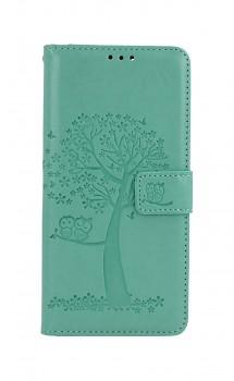 Knížkové pouzdro na Xiaomi Redmi Note 10 Pro Zelený strom sovičky
