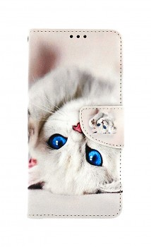 Knížkové pouzdro na Xiaomi Redmi Note 10 Pro Kočička