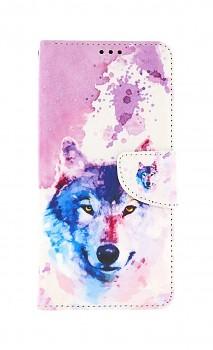 Knížkové pouzdro na Samsung A32 5G Polární vlk