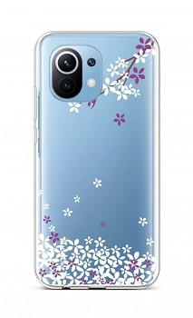 Zadní silikonový kryt na Xiaomi Mi 11 Lite Květy sakury