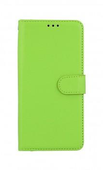 Knížkové pouzdro na Xiaomi Redmi Note 10 zelené s přezkou