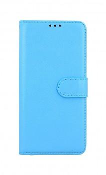 Knížkové pouzdro na Xiaomi Redmi Note 10 modré s přezkou