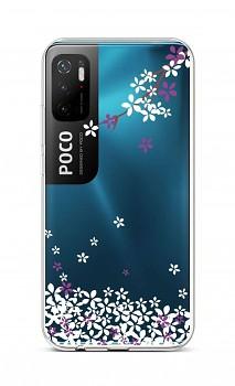 Zadní silikonový kryt na Xiaomi Poco M3 Pro Květy sakury