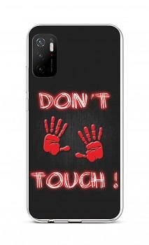 Zadní silikonový kryt na Xiaomi Poco M3 Pro Don´t Touch Red