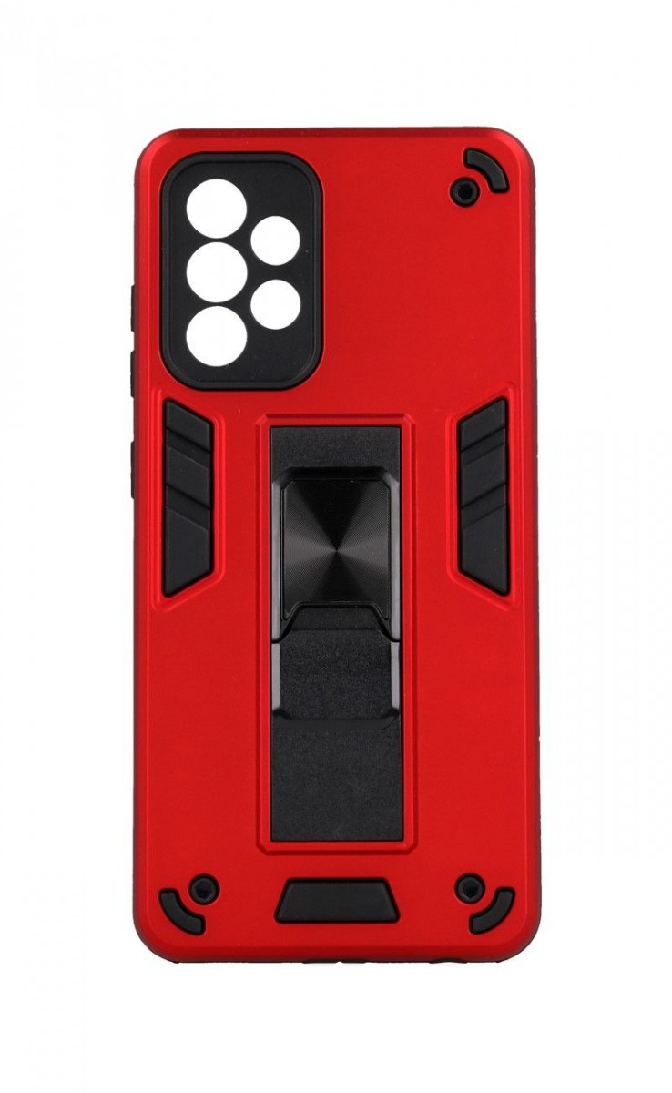 Ultra odolný zadní kryt Armor na Samsung A52 červený