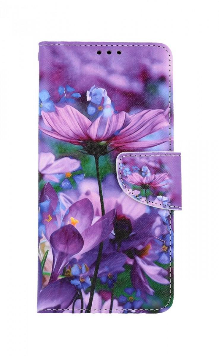 Knížkové pouzdro na Xiaomi Redmi Note 9 Pro Rozkvetlé květy