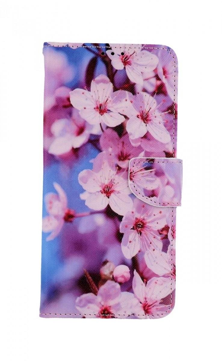Knížkové pouzdro na Xiaomi Redmi Note 9 Pro Sakura