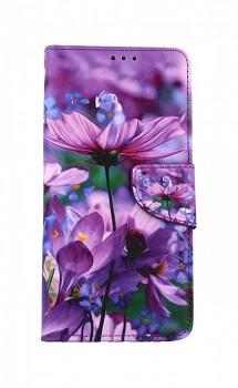Knížkové pouzdro na Xiaomi Redmi Note 9 Rozkvetlé květy