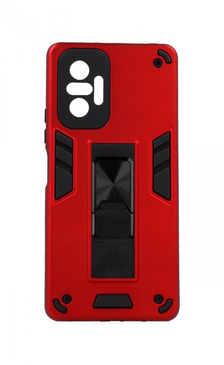 Ultra odolný zadní kryt Armor na Xiaomi Redmi Note 10 Pro červený