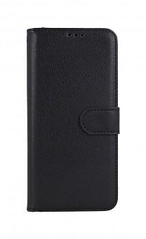 Knížkové pouzdro na Realme 8 Pro černé s přezkou