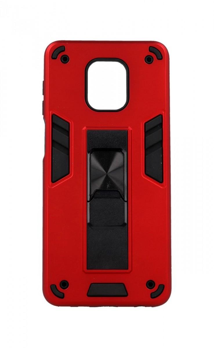 Ultra odolný zadní kryt Armor na Xiaomi Redmi Note 9 Pro červený