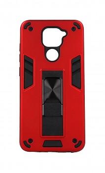 Ultra odolný zadní kryt Armor na Xiaomi Redmi Note 9 červený