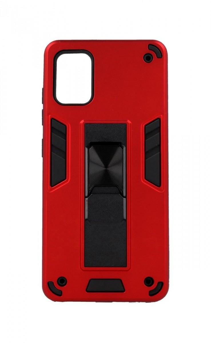 Ultra odolný zadní kryt Armor na Samsung A51 červený