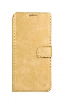 Knížkové pouzdro Molan Cano Issue Diary na Samsung A22 zlaté