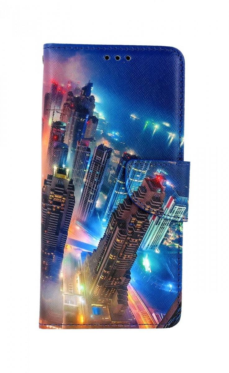 Knížkové pouzdro na Xiaomi Redmi Note 9 Město