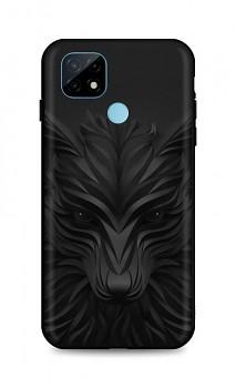 Zadní silikonový kryt DARK na Realme C21 Černý vlk