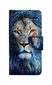 Knížkové pouzdro na Samsung A12 Kouzelný lev